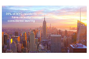See full story: More Than One Third of All NYC Residents Consider Leaving