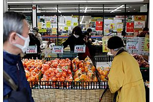 See full story: Japan's Consumer Prices Fall at Decade-Fast Pace, Add to Deflation Fears
