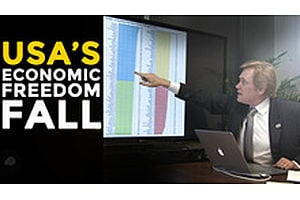 HSOM Episode 5 Bonus Feature: USA's Economic Freedom Fall