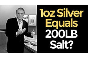 HSOM Episode 5 Bonus Feature: 1 oz Silver = 200 lb Salt?