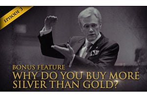 HSOM Episode 3 Bonus Feature: Why Does Mike Buy More Silver Than Gold?