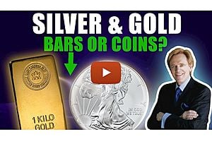 See full story: Silver & Gold: Do I Buy Bars or Coins?